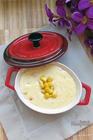 Comidinhas que aquecem o estômago e nos deixam felizes.. esse Creme de Milho é assim... :)