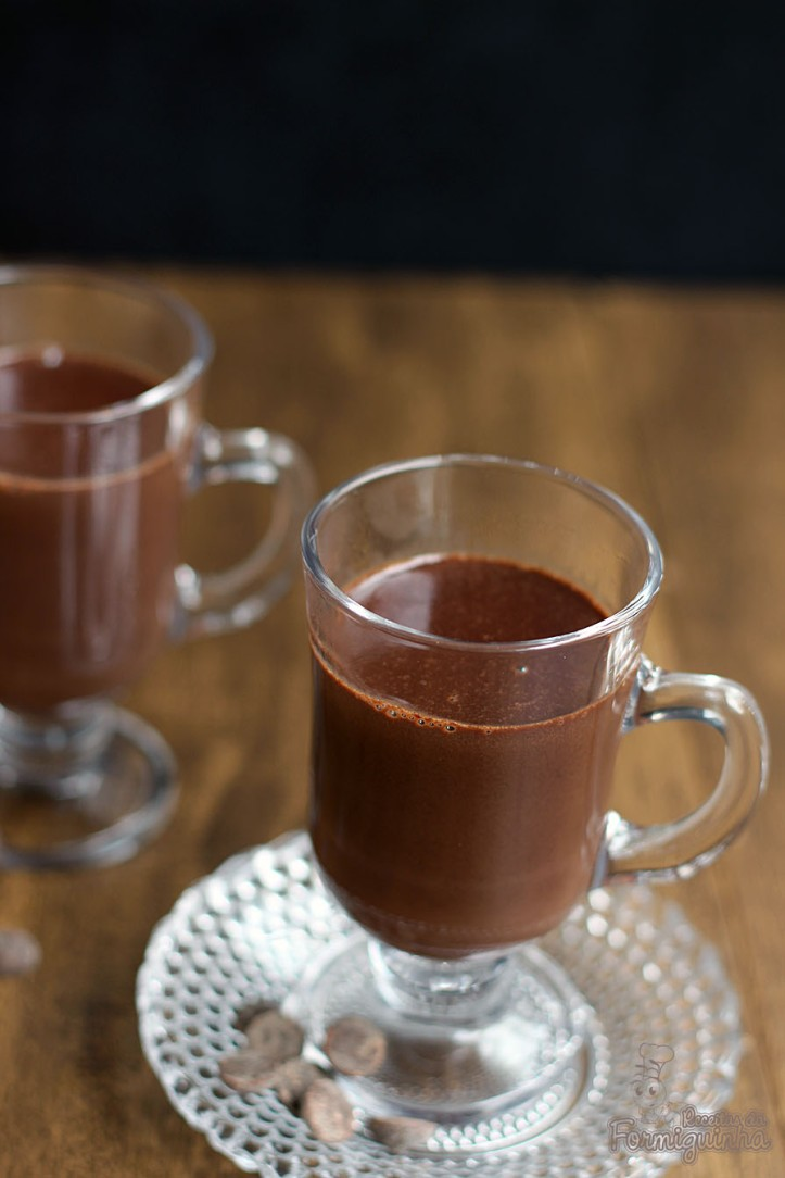 Friou bateu?? Faz esse Chocolate Quente Rápido para esquentar em poucos minutos!