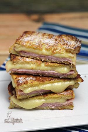 Um sanduíche trivial que poderia ser um simples misto quente transformado em algo delicioso. Conhece o Sanduíche Monte Cristo?! Então não perde tempo!!