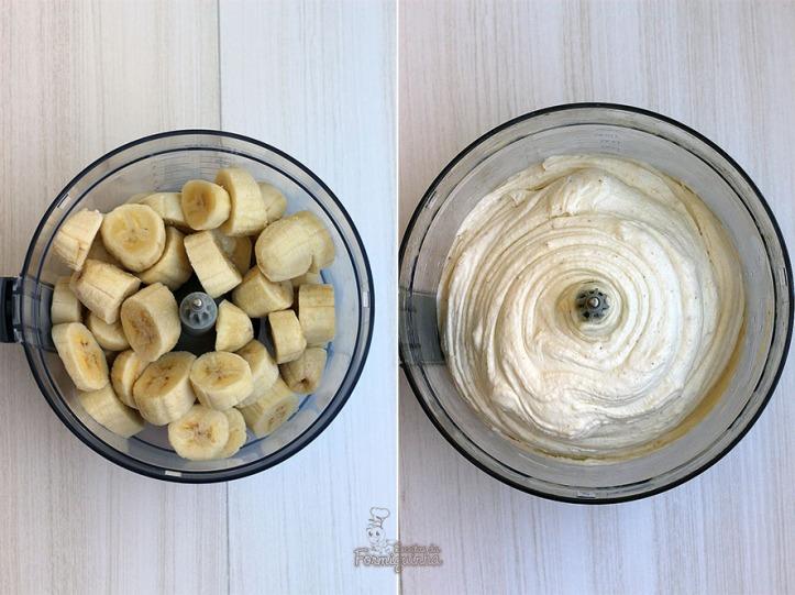 Não desperdice aquelas bananas que amadurecem rápido no verão.. Prepare esse delicioso Sorvete de Banana com Chocolate!