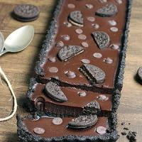 Torta de Oreo com Chocolate (fácil, sem forno)