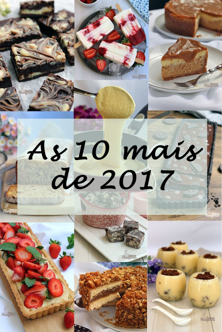 As 10 receitas mais visitadas de 2017